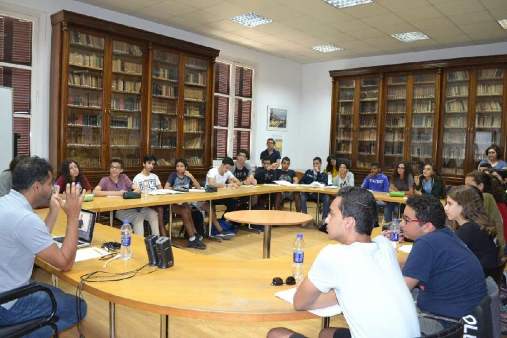 Les élèves du LFC au séminaire de l'IFE